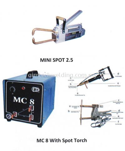 WIM PORTABLE SPOT WELDER MINI SPOT 2.5 / MC8
