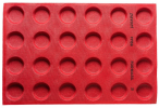 FF08 Microperforated Silicone Mould Pavoni Silicone Cake Mould