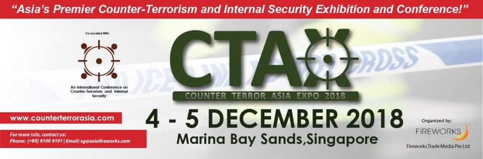 Counter Terror Asia Expo (CTAX) 2018 December 2018 Year 2018 Past Listing
