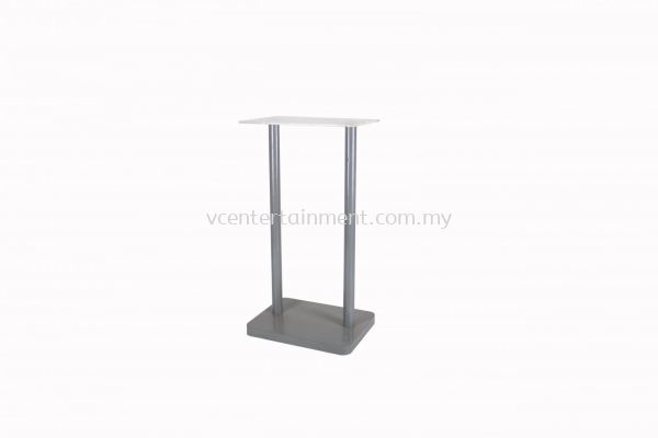 Metal Rostrum with Flat Surface