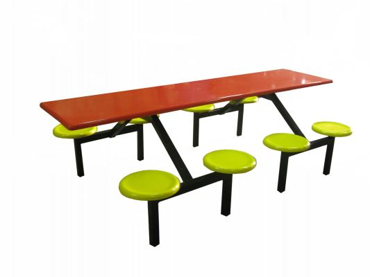 AK 808 - FIBREGLASS TABLE WITH STOOL