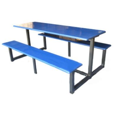 AK 607 - FIBREGLASS TABLE WITH BENCH