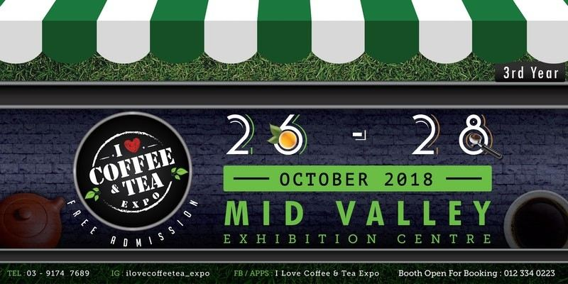 I Love Coffee & Tea Expo 2018 October 2018 Year 2018 Past Listing