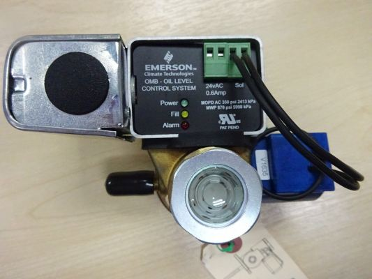 OMB-JB1 FLOW CONTROLS ELECTRONIC OIL REGULATOR (P/N : 065365)