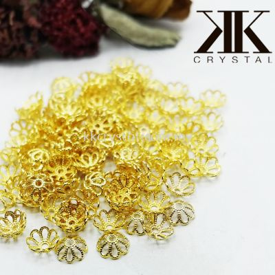 Beads Cap, X165/8mm, Gold Plating, 650837