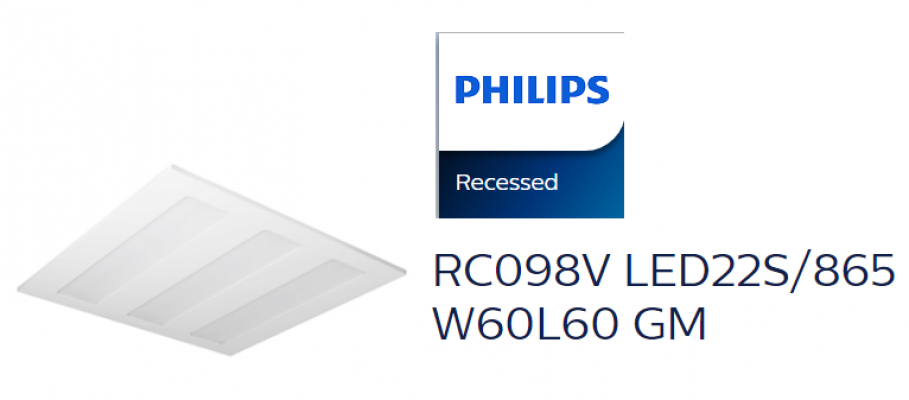 PHILIPS RC098V LED22S/865 W60L60 GM
