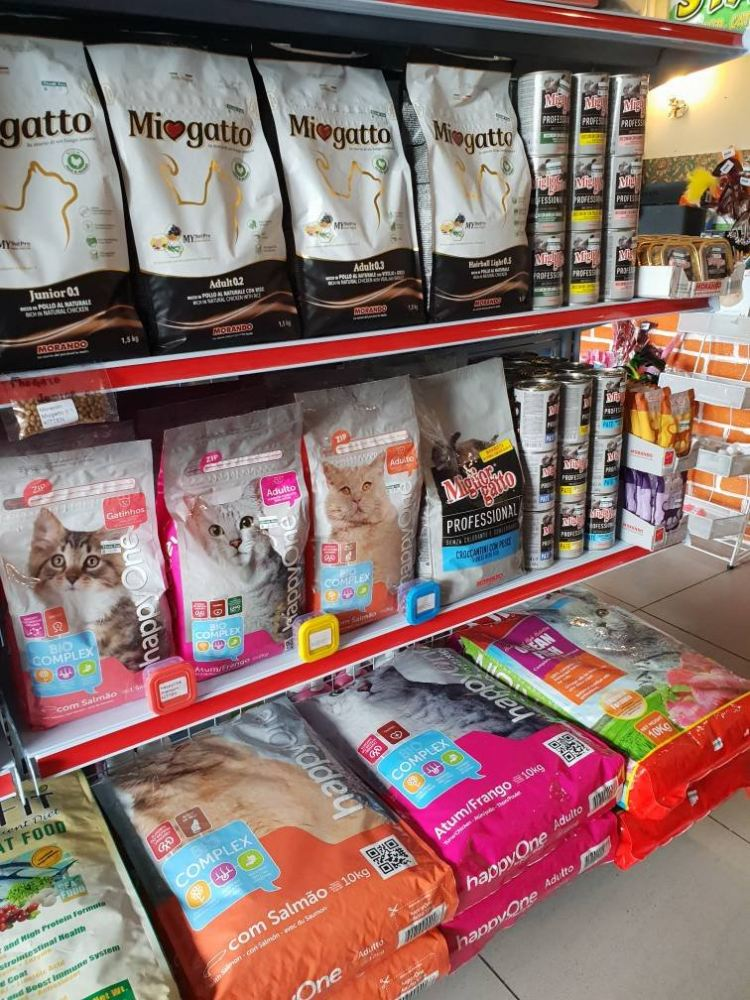 Morando full range cat dry food & wet food landed in 88 Market Place, Kota Kinabalu