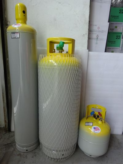 Manchester 50lbs, 123lbs & 250lbs Refrigerant Recovery Cylinders