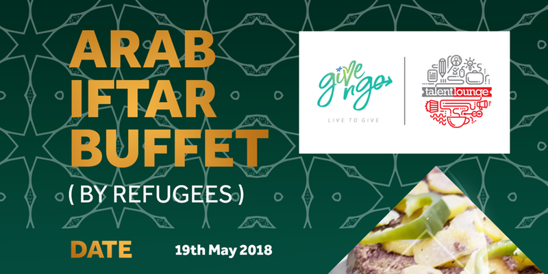 Refugee's Arab Buffet May 2018