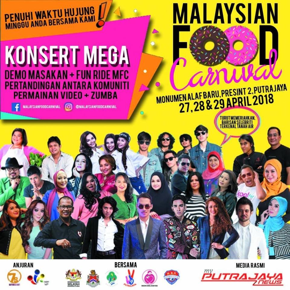 Malaysian Food Karnival April 2018 Year 2018 Past Listing