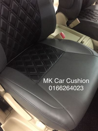 TOYOTA VELLFIRE SUPER LEATHER SEAT COVER & DOOR PANEL WITH DAD DESIGN, 3 YEARS WARRANTY