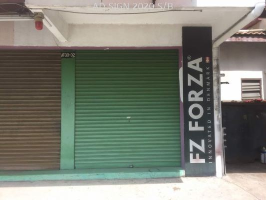 Paint Roller Shutter Design Work
