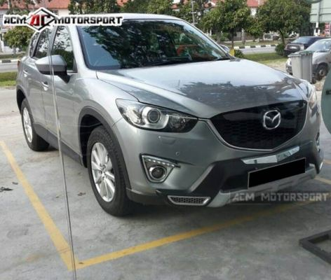 madza cx5 under guard (front & rear)