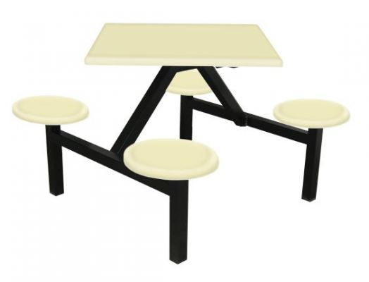 AK404F - FIBREGLASS TABLE WITH STOOL