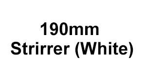 190mm Strirrer (White)