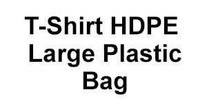 T-Shirt HDPE Large Plastic Bag