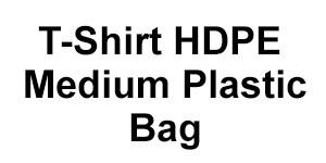 T-Shirt HDPE Medium Plastic Bag