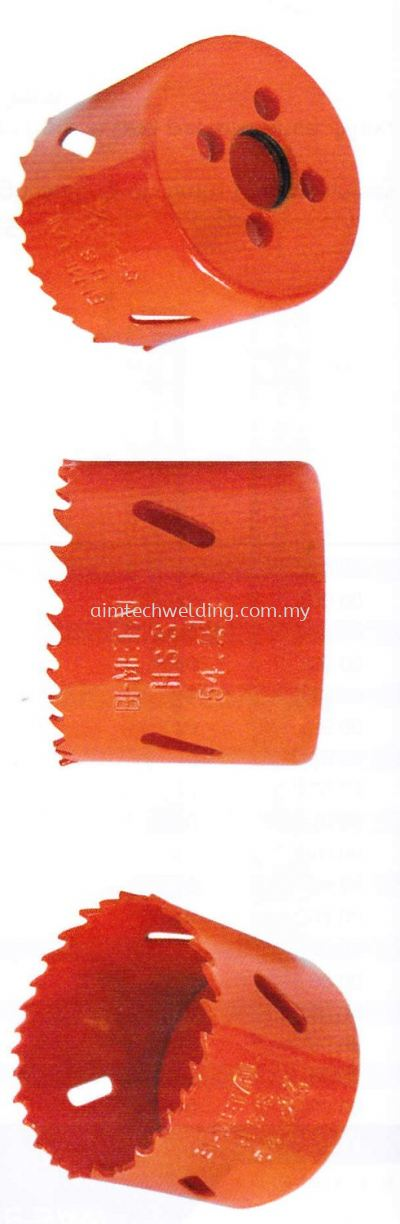HIGH SPEED STEEL (8% COBALT) BI-METAL HOLE SAW