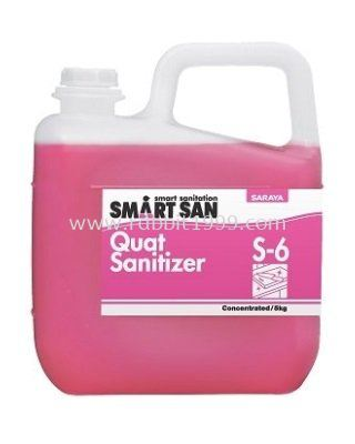 SMART SAN QUAT SANITIZER S-6