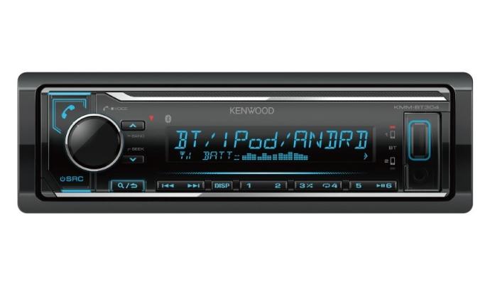 KMM-BT304 1 Din USB Receiver with bluetooth