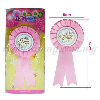 Badges Bride *Pink (DU-BAD-01P)