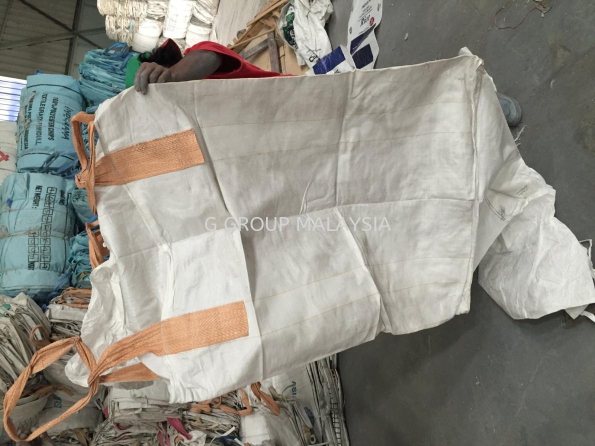 Used Jumbo Bag fibc malaysia / used bulk bag fibc malaysia 4 feet / 5 feet