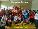 Hospital Care Project at Hospital Permai,  Together with Fanpekka and Uncle Fishy Entertainment