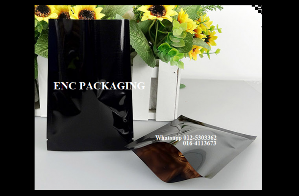 Black Foil Bag (80mm x 120mm)