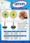"COMMERCIAL 18"" STAND & 18""WALL FAN (A023) COMMERCIAL 18"" STAND & 18""WALL FAN AMAN"