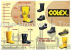 COLEX SAFETY GUMBOOTS / PVC RAIN BOOTS SAFETY GUMBOOTS / PVC RAIN BOOTS Colex