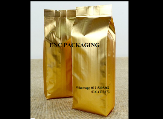 Gold vaccum bag (120+60*350mm)