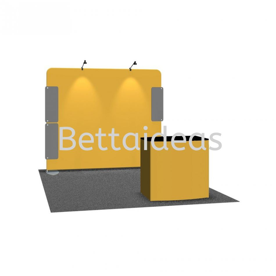TF_SET A - 10FT 3x3 Booth Size Customize Booth Setup