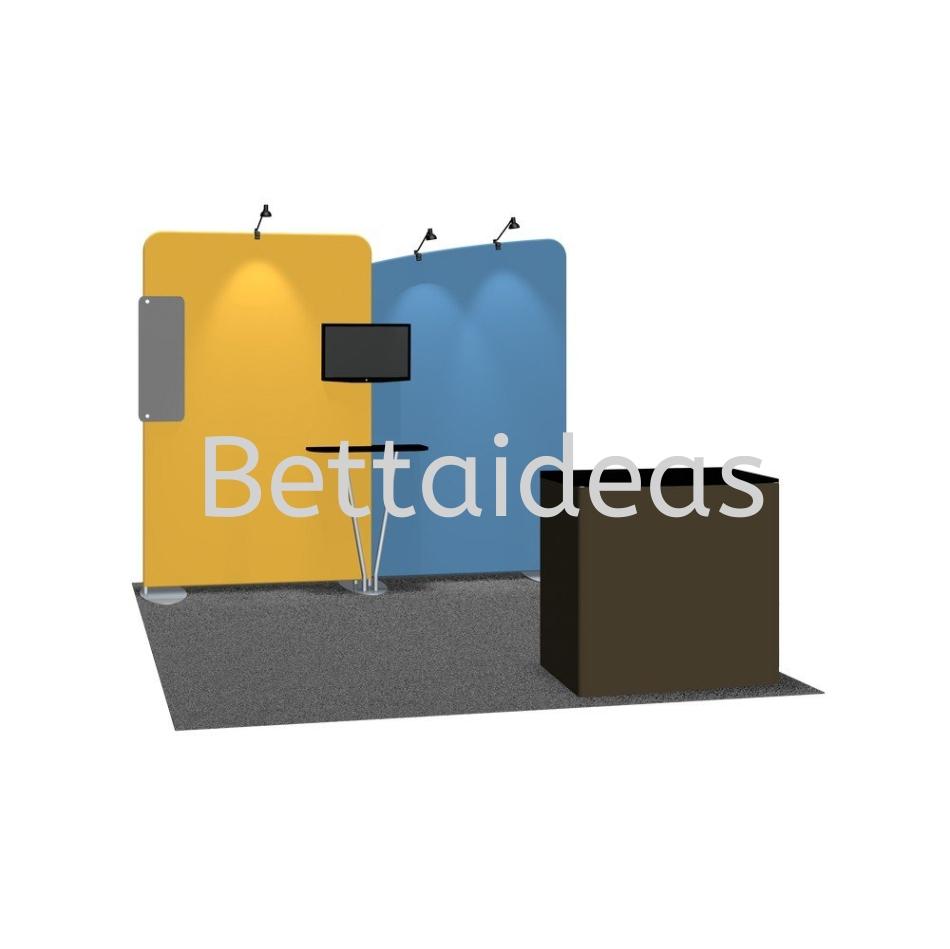 TF_SET B - 10FT 3x3 Booth Size Customize Booth Setup