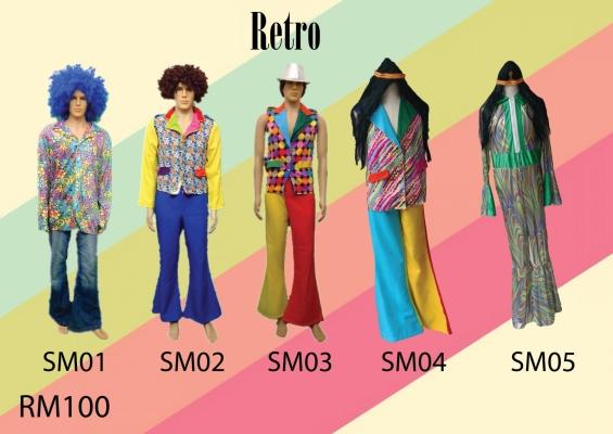 Retro Man SM01-05