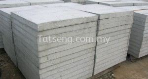 Compressed concrete slabs
