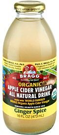 BRAGG-ACV WITH GINGER SPICE-473ML