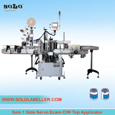 One(1) Side Servo Ecam with Top Applicator Labelling Machine (Customized Machine)