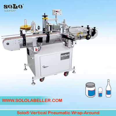 Wrap Around Labelling Machine (Vertical Pneumatic)