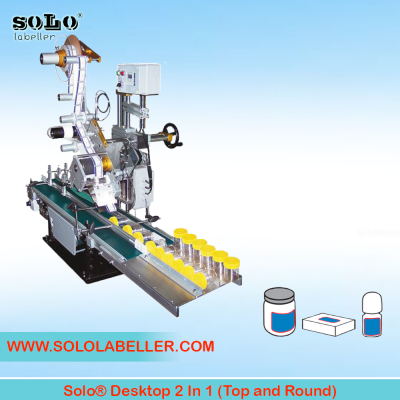 Two(2) In One(1) Labeling Machine (Top and Round)