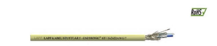 RS485 Cables - UNITRONIC UL2919 1x2x22AWG Data Communication
