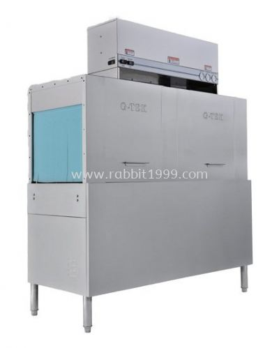 DOUBLE TANK CONVEYOR TYPE DISH WASHER (GT-CR2)