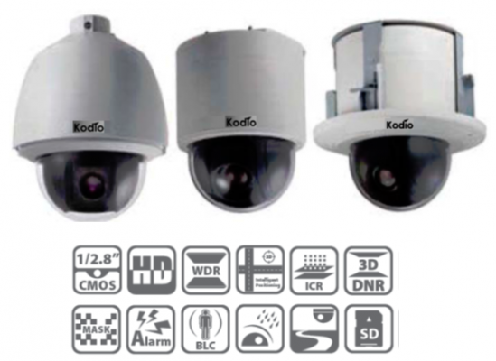 2MP WDR Network PTZ Dome Camera (SDIP-2022WDR/SDIP-2021WDR)