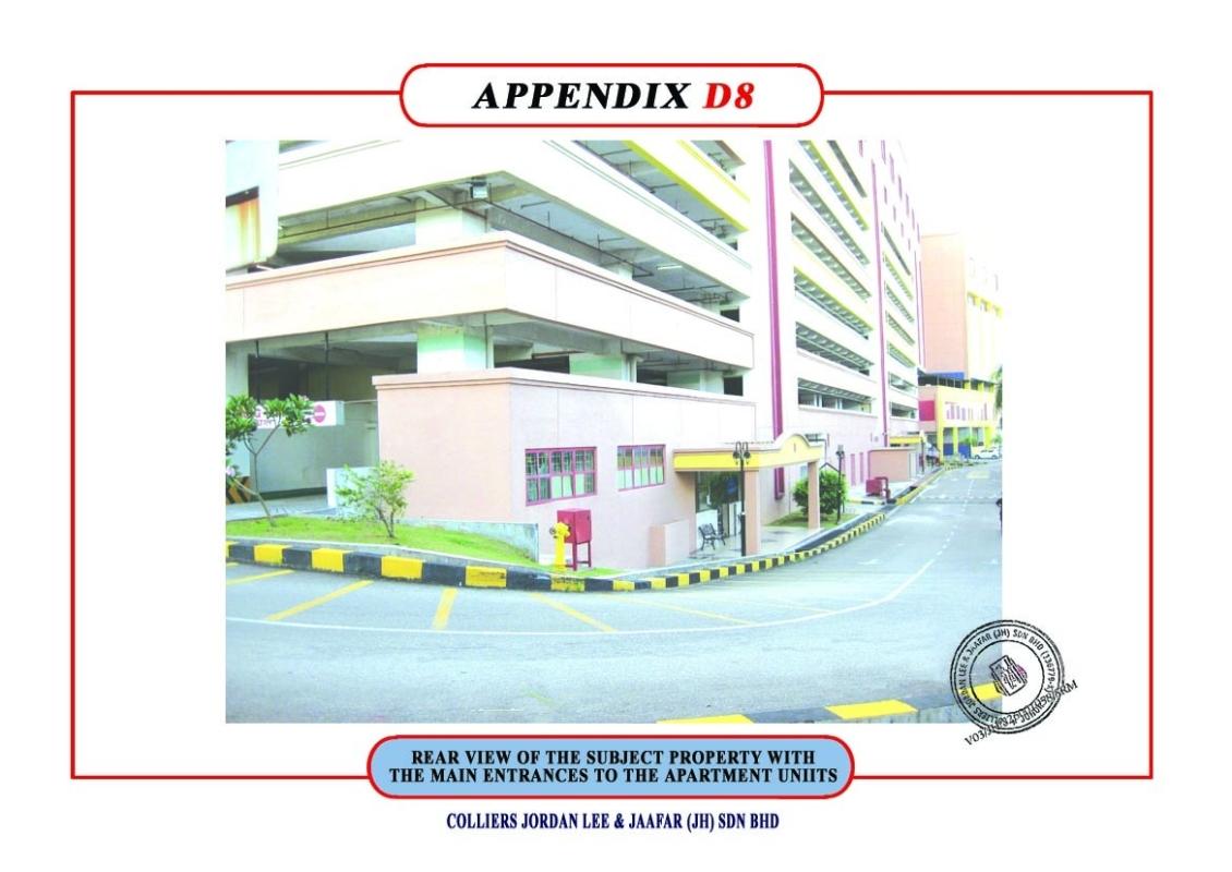 APARTMENT ENTRANCE copy Apartment Johor Bahru (JB), Skudai Shopping Complex | Sineo Management Sdn Bhd