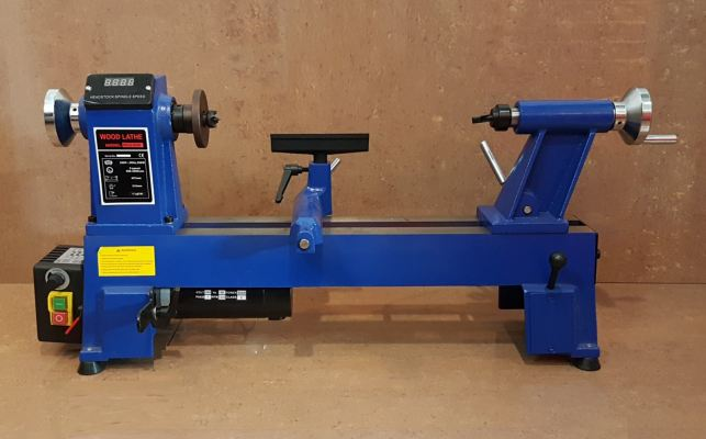 "12"" x 18"" Mini Wood Lathe Machine 550W ID32577"