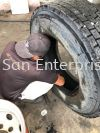 Tyre Service  TYRE SUPPLY OR REPAIR PATCHING REPAIR & SERVICE LORRY