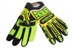 Seibertron HIGH-VIS SDXG2 Dexterity Super Grip GEL Oil & Gas Anti-Vibration Impact Protection Safety Gloves CE EN388 4131 Impact Glove Hand Protection
