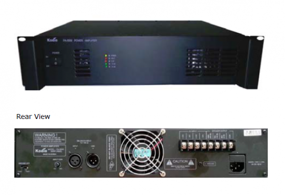 Power Amplifiers (PA-5125/5250/5375/5500)