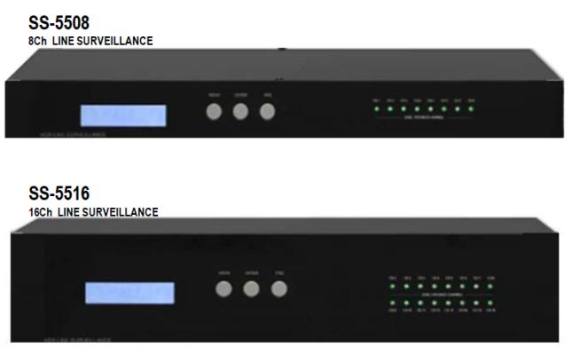 8/16ch Speaker Line Surveillance (SS-5508/SS-5516)