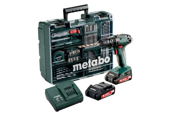 Metabo Corless Impact Drill 18V, 1600rpm, 48Nm, SB18SET