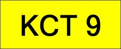 KCT9 VVIP Plate